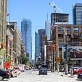 Adelaide Street W at Spadina looking east August 2012.jpg