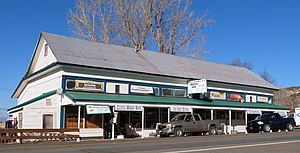 National Register of Historic Places listings in Modoc County, California - Image: Adin Supply Company Adin California