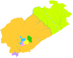 Fuxin - Image: Administrative Division Fuxin