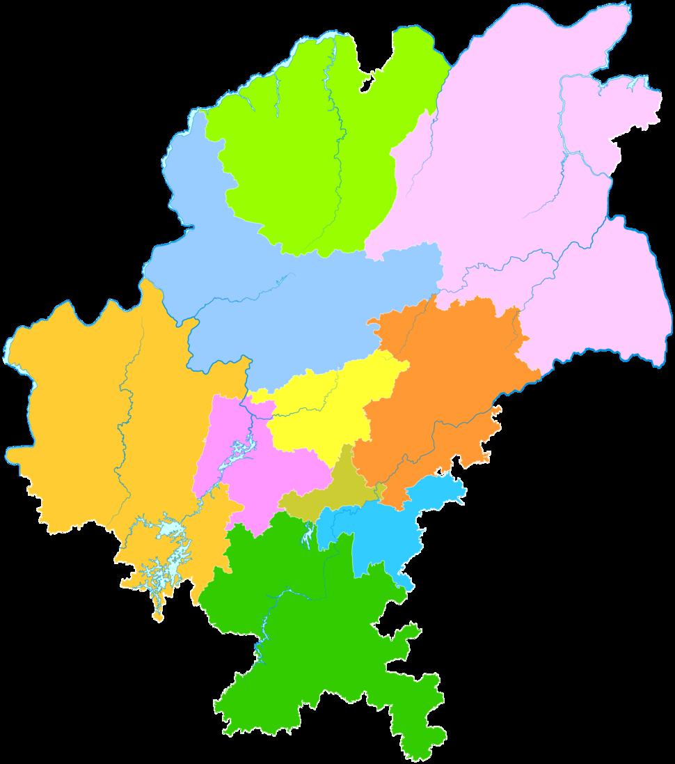 Administrative Division Guiyang 2