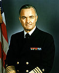 Admiral Stansfield Turner, official Navy photo, 1983