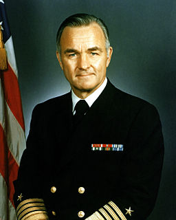 Stansfield Turner former United States Navy admiral and former Director of Central Intelligence and President of the Naval War College