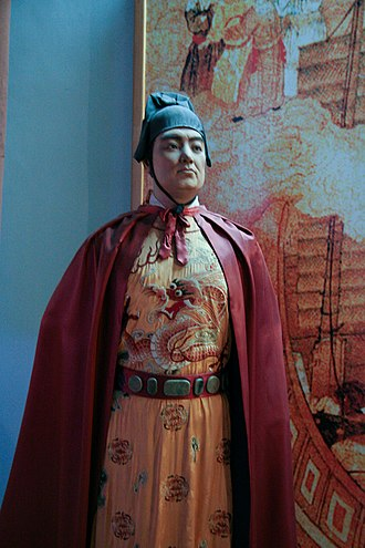 Treasure voyages - A modern statue of Admiral Zheng He (Quanzhou Maritime Museum)