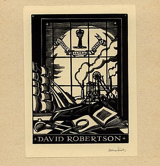 Adrian Feint - Image: Adrian Feint Bookplate David Robertson