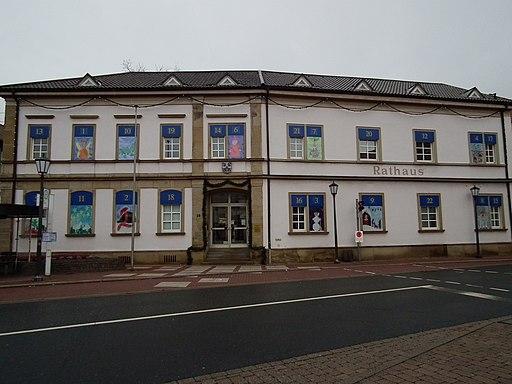Adventskalender Rathaus Plankstadt