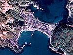 Aerial photograph of Koshigahama district Hagi City.jpg