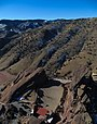 Aerial view of Red Rocks Amphitheatre, January 2013.jpg