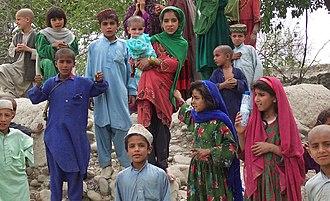 Khost Province - Pashtun children