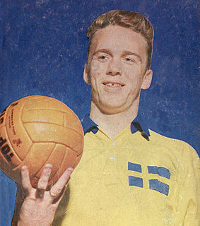 Agne Simonsson Swedish footballer