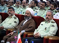 Ahmadi Moghaddam in a law enforcement conference.JPG