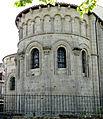 Ahun - Église Saint-Sylvain - Chevet.JPG