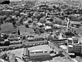 Air views of Palestine. Newer Jerusalem. Jerusalem. Section near the Straus Health Center with a corner of the building LOC matpc.15856.jpg