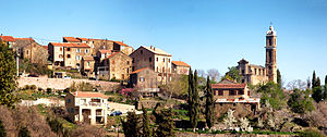 Aiti - Panorama of the Village