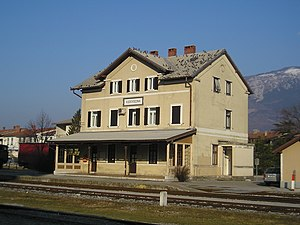 Ajdovščina railway station