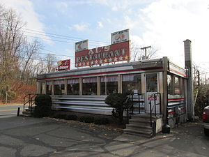 National Register of Historic Places listings in Hampden County, Massachusetts - Image: Al's Diner, Chicopee MA