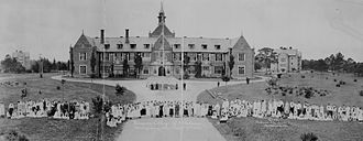 Huntingdon College - Woman's College of Alabama in 1918