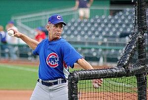 Alan Trammell - Trammell as a Chicago Cubs coach, 2009