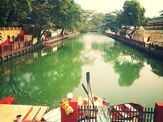 Alappuzha City in Kerala, India