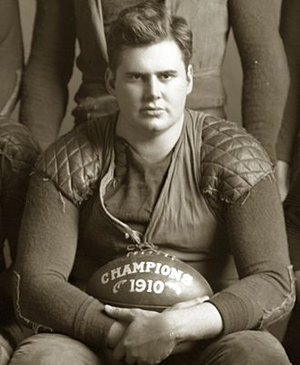 1910 Michigan Wolverines football team - Team captain Albert Benbrook