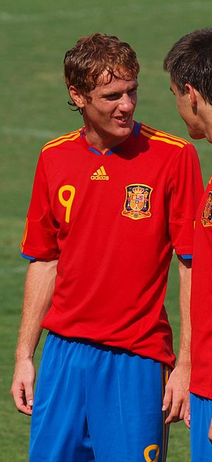 Álex Fernández - Álex with Spain U18 in 2010