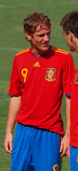 Álex Fernández - Álex with Spain U18 in 2010