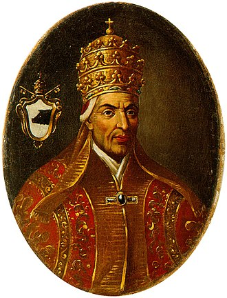 Pope Alexander II - Modern depiction of Pope Alexander II