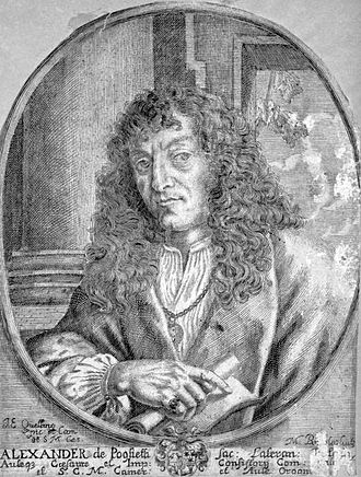 Alessandro Poglietti - A late-17th-century engraving done after Jan-Erasmus Quellinus' portrait of Alessandro Poglietti (the original painting is lost).