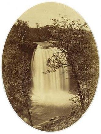 Alexander Hesler - Image: Alex Hesler Falls of Minnehaha Minnesota 1855