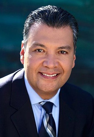 Secretary of State of California - Image: Alex Padilla official photo (cropped)