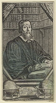 Alexander Ross, 1653 engraving by Pierre Lombart.