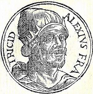 Alexios III Angelos - Alexios III from Promptuarii Iconum Insigniorum