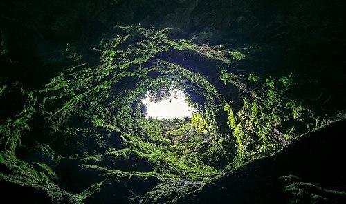 Algar do Carvão, Terceira Island, Azores, Portugal