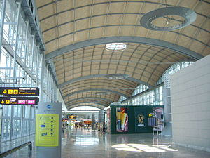Alicante–Elche Airport - Interior of the new terminal