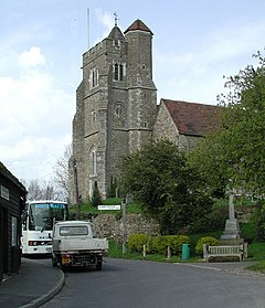All Saints, Birling, Kent - geograph.org.uk - 321870.jpg