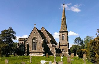 Sir Robert Frankland-Russell, 7th Baronet - All Saints Church at Thirkleby, built 1852
