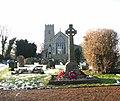 All Saints church and war memorial - geograph.org.uk - 1637797.jpg