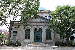 O Allegheny Post Office é uma das poucas estruturas remanescentes do centro da cidade de Allegheny