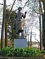 Alte Rheinbrücke Rheinfelden, Inseli, Bronzeskulptur Judith von Eduard Spörri.jpg