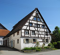 Half-timber house in Altheim