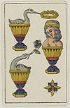 Aluette card deck - Grimaud - 1858-1890 - Three of Cups.jpg