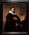Amsterdam - Rijksmuseum 1885 - The Gallery of Honour (1st Floor) - Portrait of Remonstrant Minister Johannes Wtenbogaert 1633 by Rembrandt van Rijn.jpg