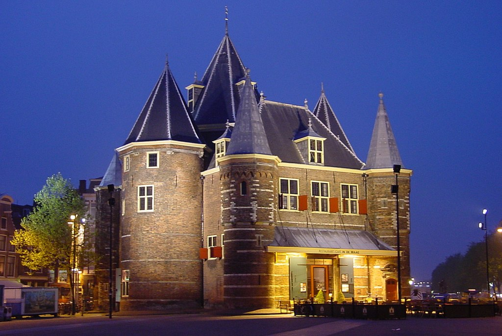 Amsterdam, de Oude Waag