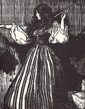 Sweetheart Roland - An illustration from Grimms' Fairy Tales
