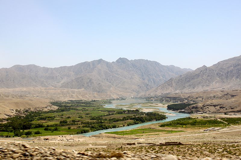 File:An irrigated valley in Afghanistan.jpg