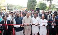 Ananth Kumar inaugurating the India Medical Expo-2016, an exhibition for medical electronics and device sector, in Bengaluru. The Minister of State for Chemicals & Fertilizers, Shri Hansraj Gangaram Ahir.jpg
