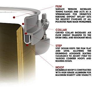 Drumhead - Image: Anatomy of a Drumhead
