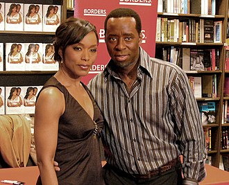 Courtney B. Vance - Vance with wife Angela Bassett