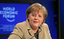 Angela Merkel - World Economic Forum Annual Meeting 2011.jpg
