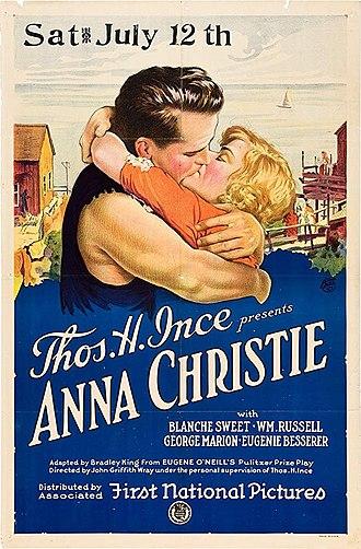 Anna Christie (1923 film) - Original 1923 theatrical poster
