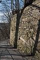 Annaberg, Stadtbefestigung, Stadtmauer, westlicher Abschnitt-20160407-002.jpg